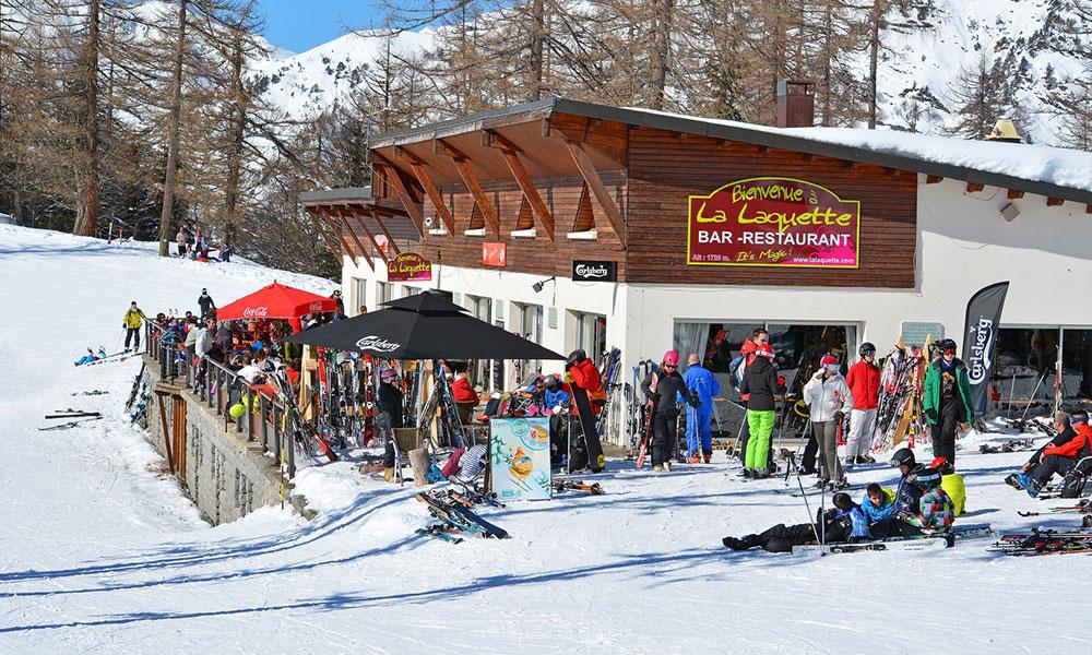 La Laquette, restaurant d'altitude à Barèges
