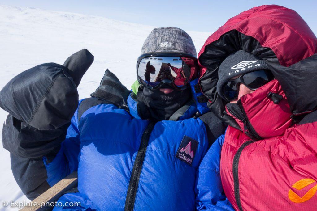 Équipement pour le grand froid