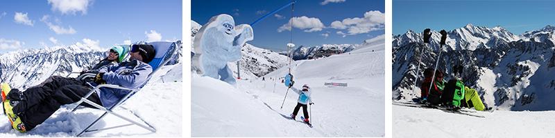 Le ski de printemps, c'est détente avant tout !