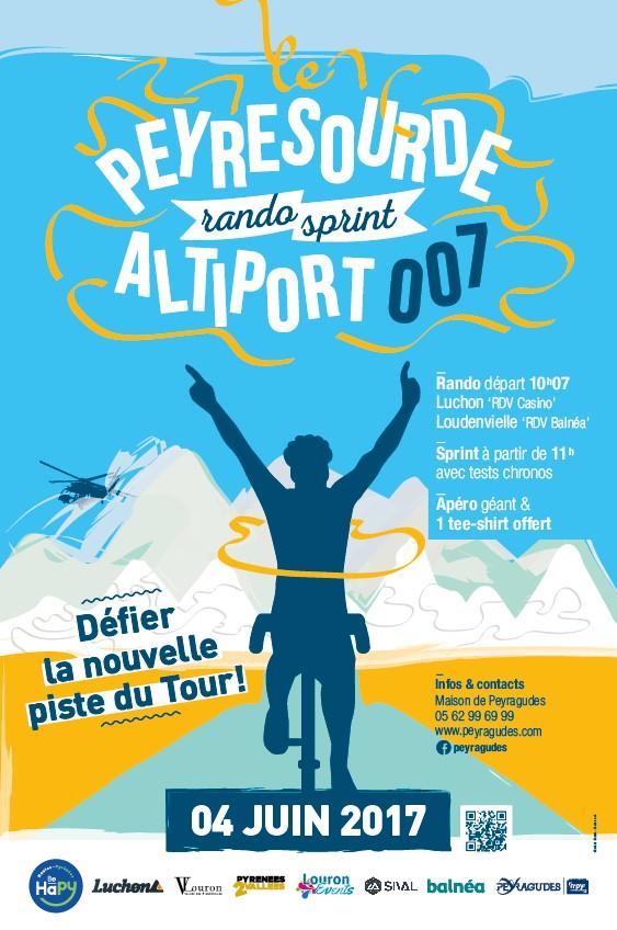Affiche Peyresourde rando et sprint 2017