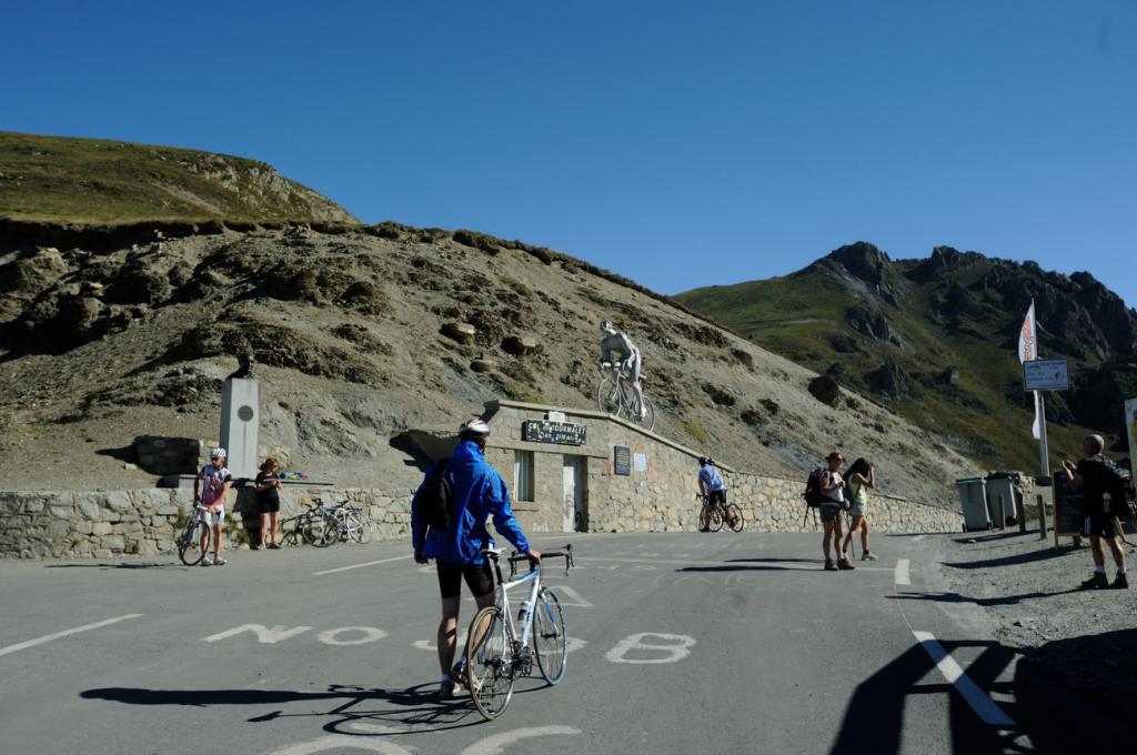 Le sommet du col du Tourmalet
