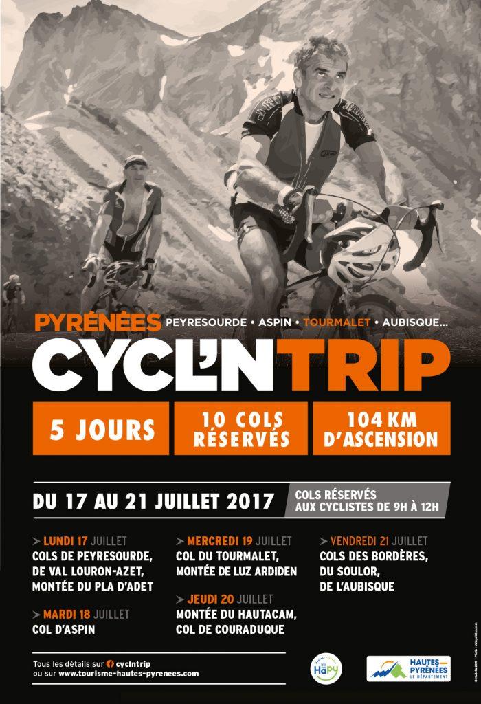 Pyrénées Cycl'n'trip 2017
