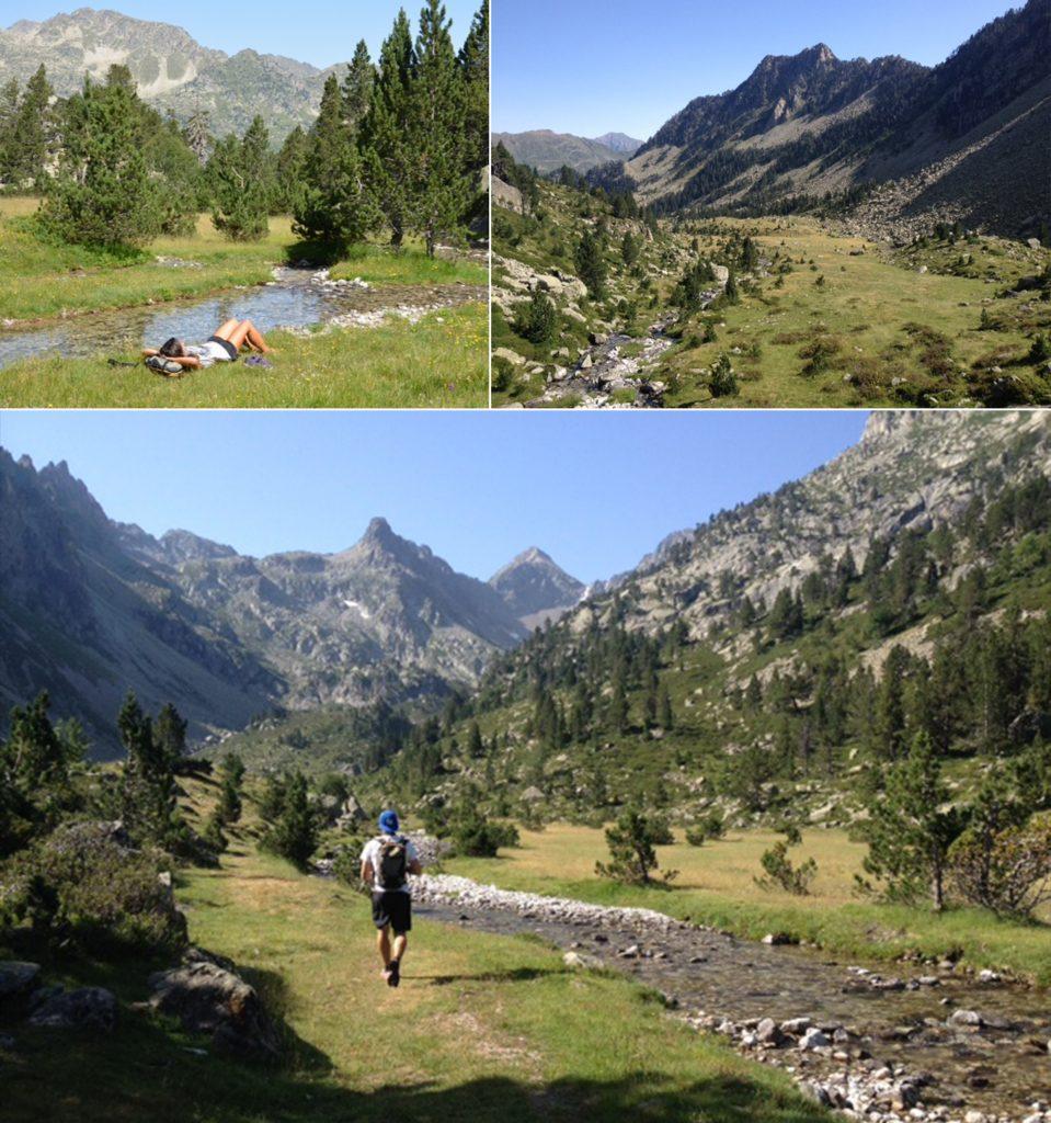 Randonnée dans la vallée de Pouey Trenous (Cauterets)