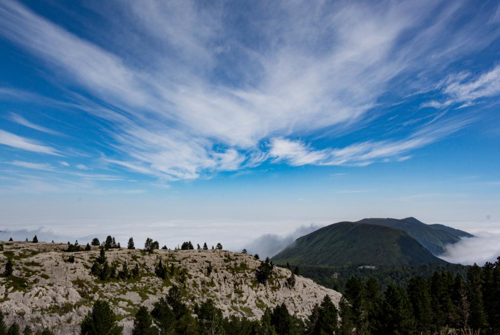 Panorama depuis le sommet du Pic d'Arlas à La Pierre Saint-Martin - Pyrénées