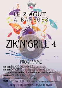Zik'N'Grill à Barèges - Grand Tourmalet