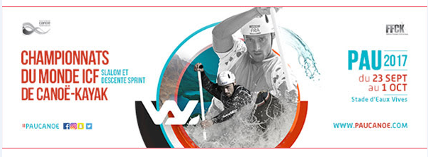 Championnat du Monde Canoë-Kayak Slalom et Descente Sprint à Pau - Pyrénées
