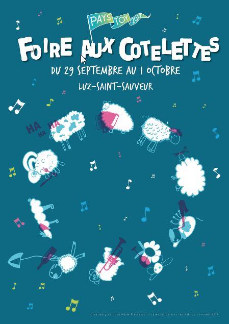 Foire aux cotelettes à Luz Saint-Sauveur - Pyrénées