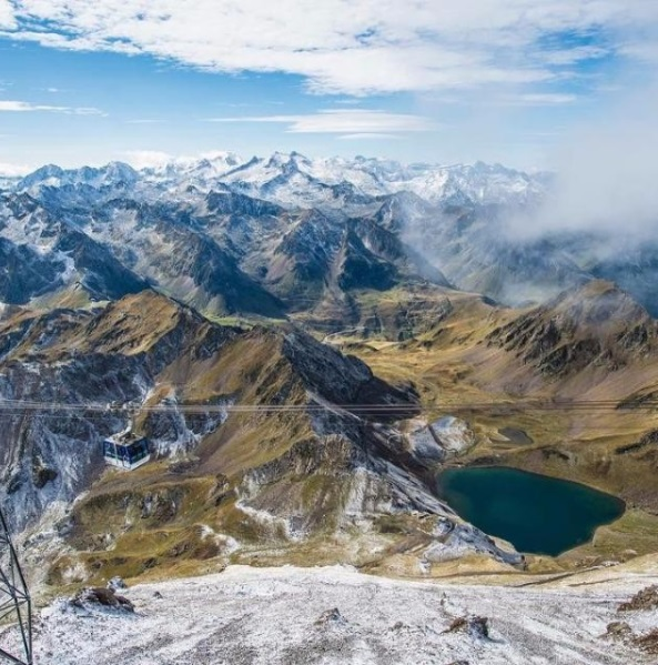 La neige n'est plus très loin dans les Pyrénées