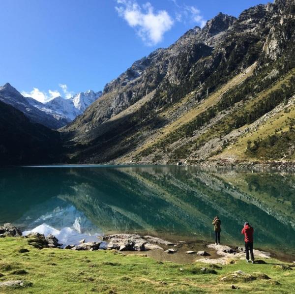 Le calme et l'osmose avec la nature dans les Pyrénées - Le lac de Gaube - Cauterets