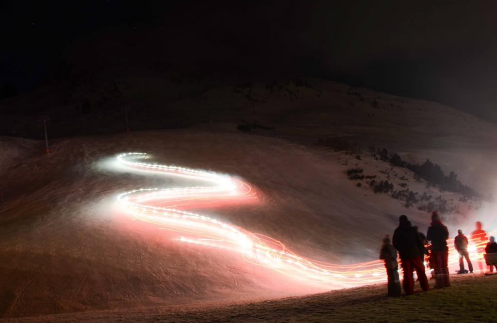 La descente aux flambeaux- Pyrénées