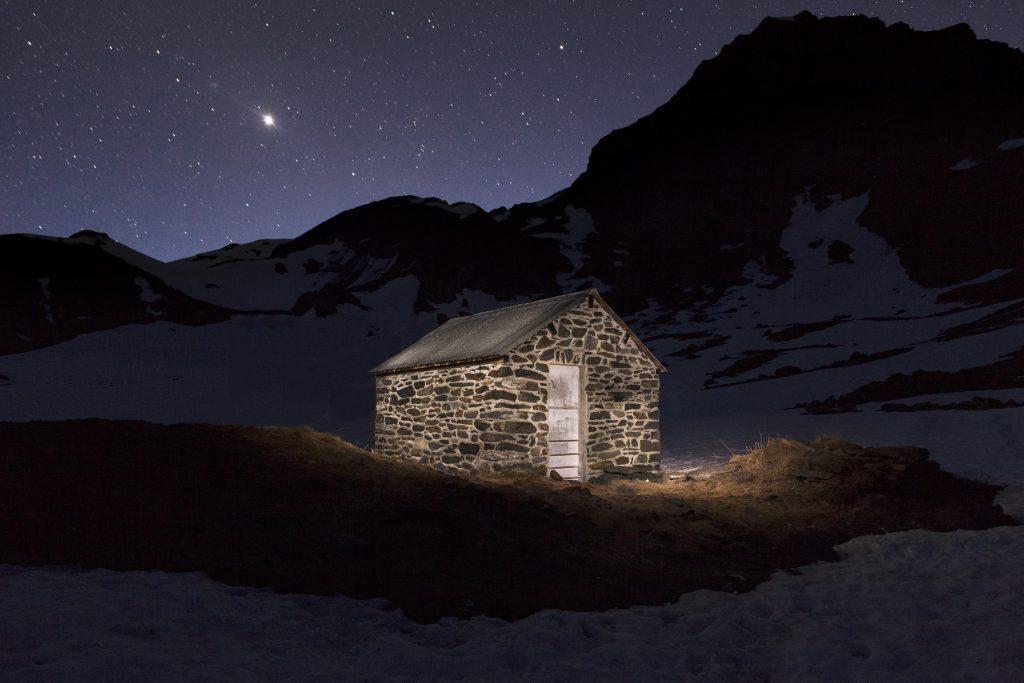 Le lac d'Ourrec et sa cabane - Pyrénées - Photo : Tristan Pereira