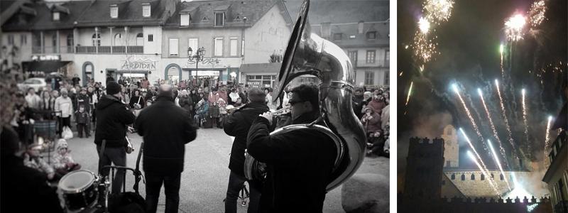 Réveillon du jour de l'an à Luz Saint Sauveur - Pyrénées