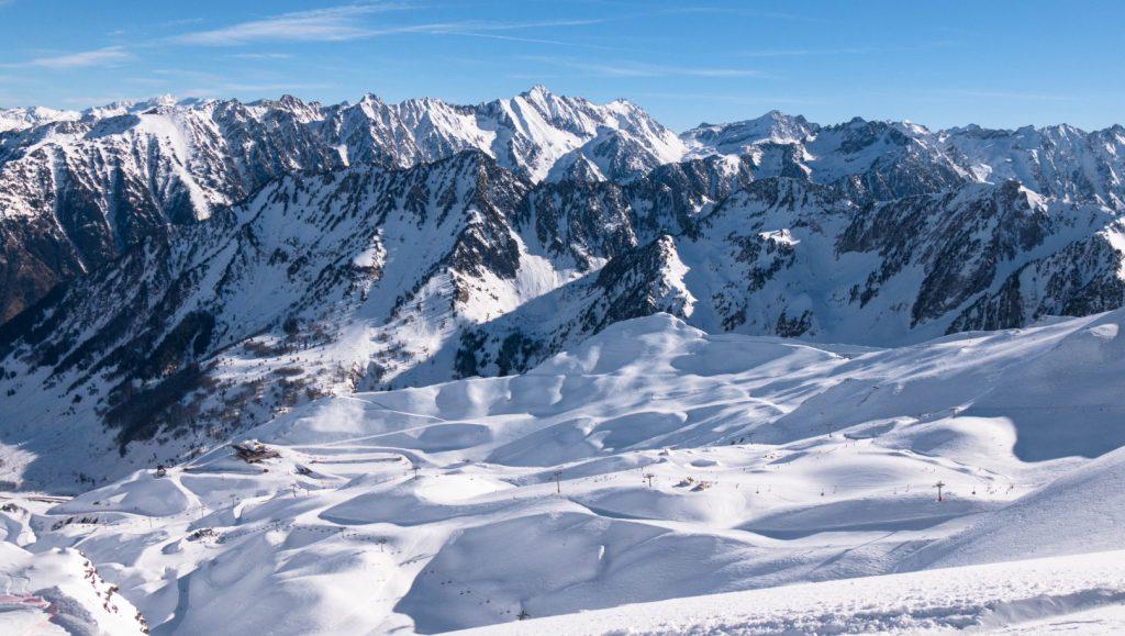 Panorama sur la station Cauterets - Pyrénées