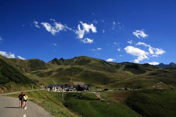L'ascension du col de Peyresourde à vélo - Peyragudes