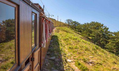 Le train à crémaillère de la Rhune