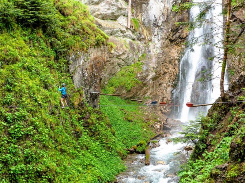 Vertige de l'Adour - Via ferrata - Grand Tourmalet Pyrénées