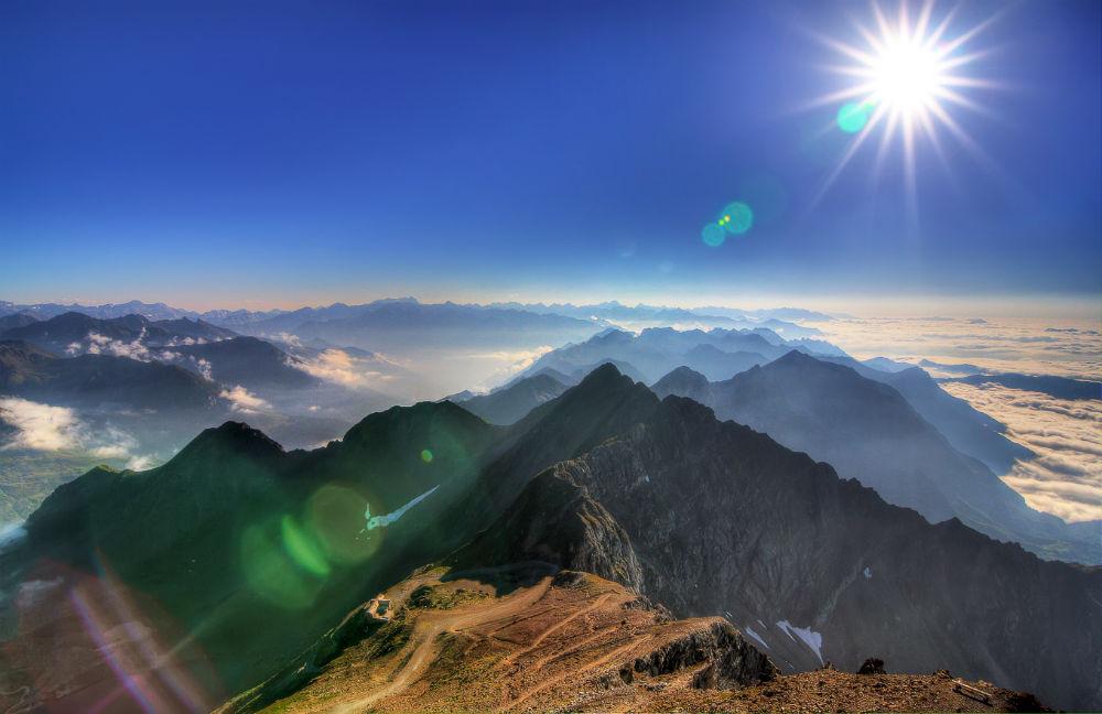 Vacances en famille dans les Pyrénées - Le Pic du Midi