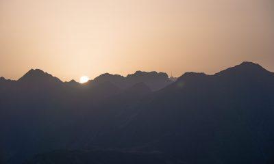Lever de soleil - Pyrénées