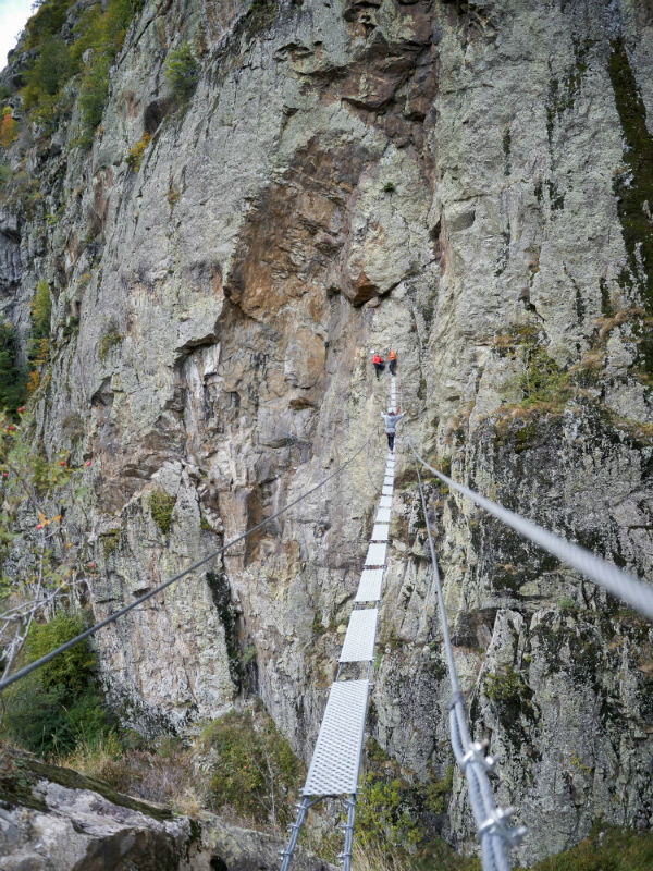 Via ferrata de Coumély à Gavarnie - Activités Pyrénées