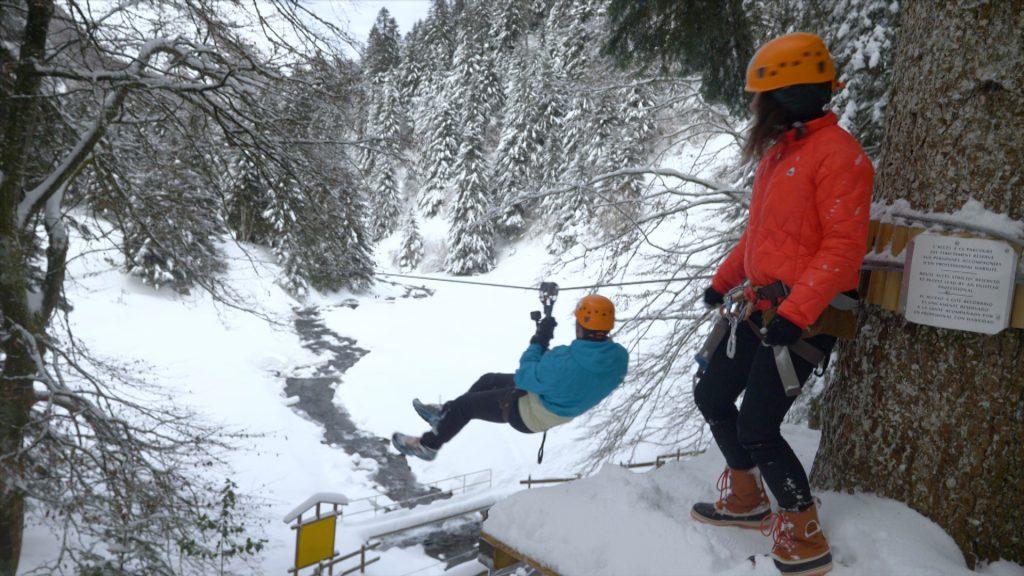 Ice Tyroliennes avec Vertige de l'Adour
