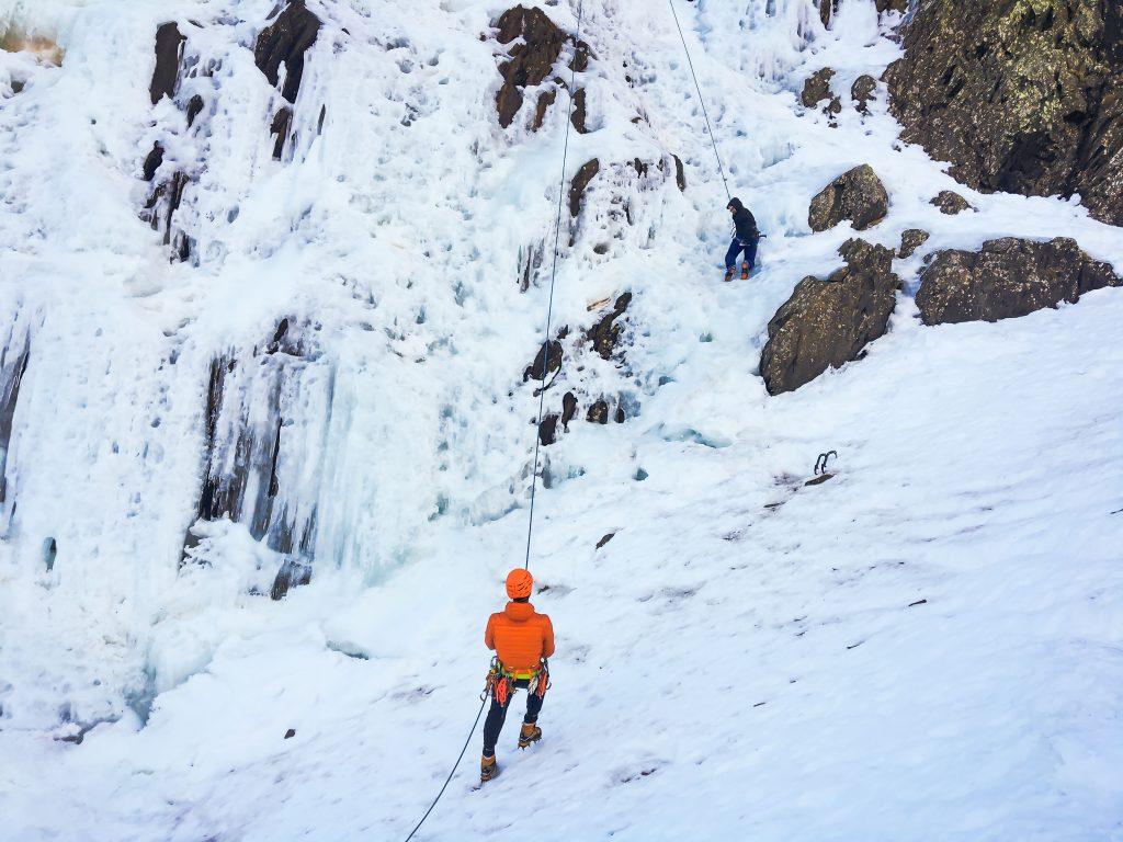Cascade de glace - Piau Engaly