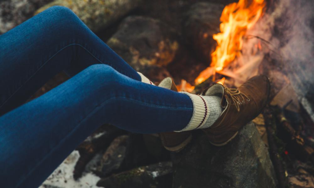 cadeau idéal pour la fête des mères : la paire de chaussettes maison izard