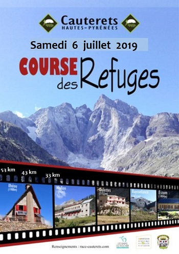 Course des refuges 2019 à Cauterets