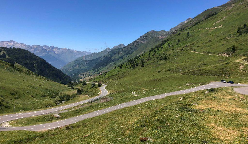 Lacets de Parc à Mouton - Étape Tour de France Tarbes-Barèges