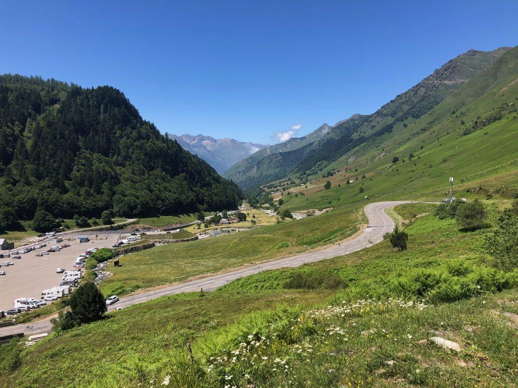 Lacets de Tournaboup - Étape Tour de France Tarbes-Barèges