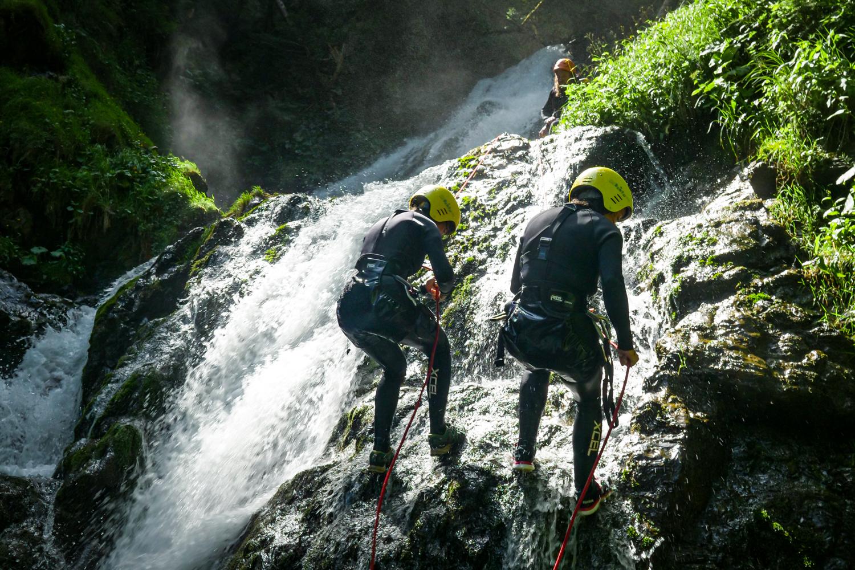 canyoning dans les pyrénées - Photo Hugo Aussenac