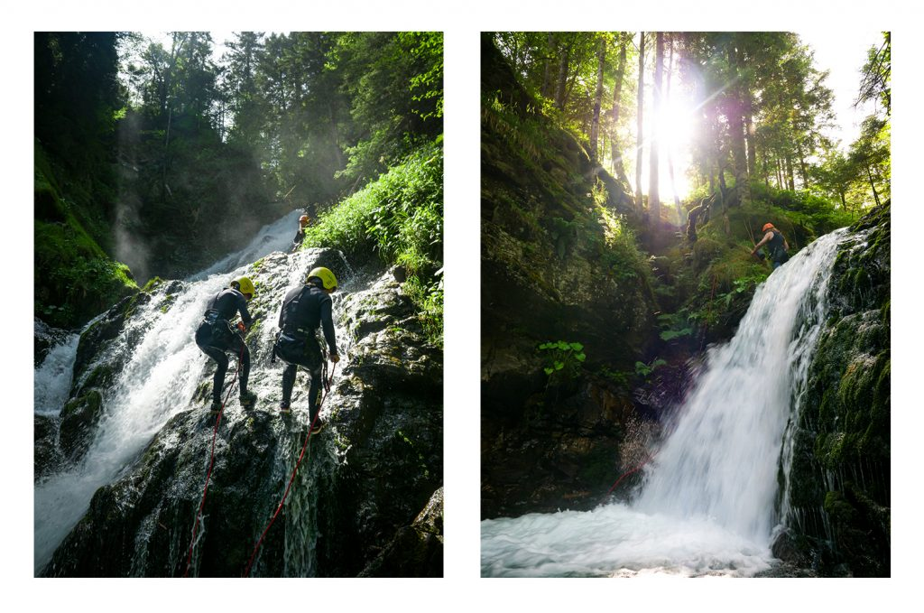Canyoning au Vertige de l'Adour - Grand Tourmalet