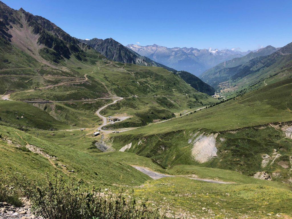 Virage de l'Oncet - Étape Tour de France Tarbes-Barèges