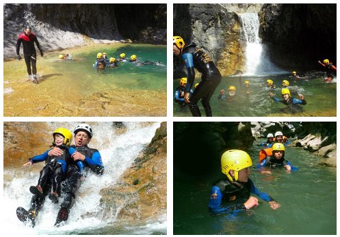 Canyoning à Piau Engaly - Activités famille