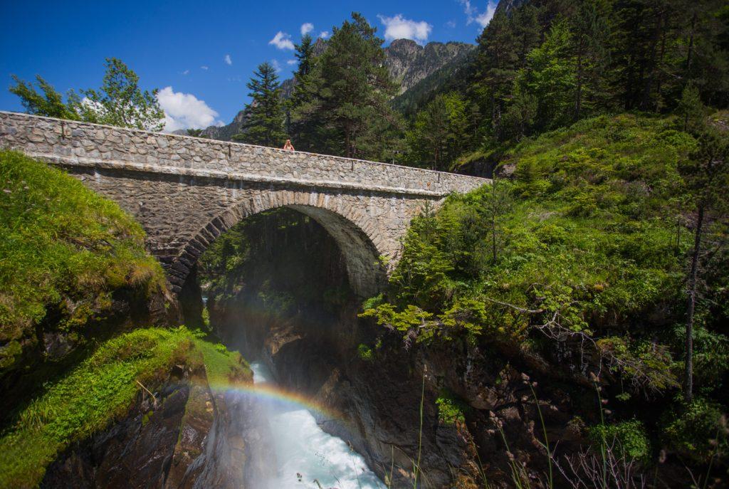 Le Pont d'Espagne à Cauterets - N'Py