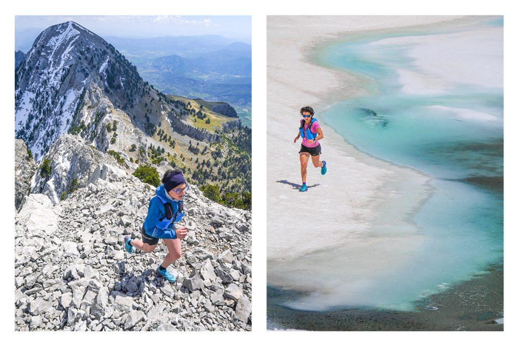 Safia Lise Saighi en trail